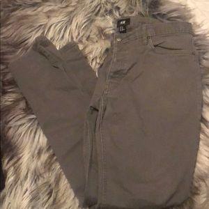 Gray pants H&M